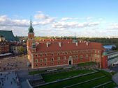 The Royal castle in Warsaw, Poland — Stock Photo