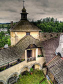 Niedzica castle, Poland — Stock Photo