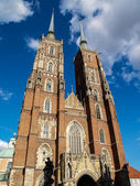 The Cathedral in Wroclaw,, Poland — Stock Photo