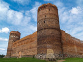 Ruins of the Medieval castle in Ciechanow, Poland — Stock Photo