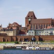 Stock Photo: View of panoramof Torun, Poland