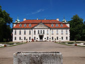 The Nieborow palace, old magnats residence in Poland — Stock Photo