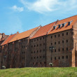 Granaries of Grudziadz at Wisla river in Poland — Stock Photo