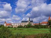 Antiga abadia em Sulejów, Polônia — Fotografia Stock