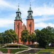 Archicathedral Basilica in Gniezno, Poland — Stock Photo