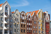 Architecture of old town in Elblag, Poland — Stockfoto