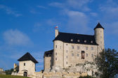 Beautiful medieval Bobolice castle, Poland — Stock Photo