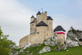 Beautiful medieval castle Bobolice, Poland — Stock Photo
