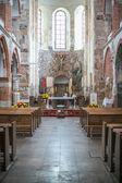 The Romanesque medieval collegiate church in Tum, Leczyca,  — Stock Photo