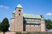 The Romanesque medieval collegiate church in Tum, Leczyca, Polan — Stock Photo