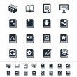 Book icons — Stock Vector #19654781