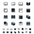 Book icons — Stock Vector #19654865