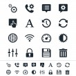 Stock Vector: Setting icons