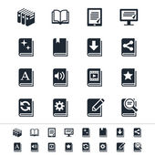 Book icons — Stockvector