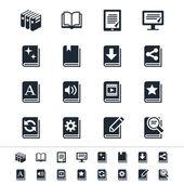 Icônes de livre — Vecteur