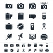 Photography icons — Stock Vector #21225623