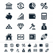 Financial investment icons — Stock Vector #25228327
