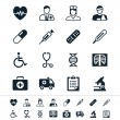 Healthcare icons — Stockvectorbeeld