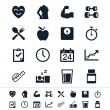 Healthcare icons — Stock Vector