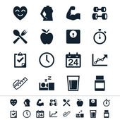 Healthcare icons — Vettoriale Stock