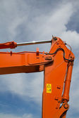 Part of excavator — Stock Photo