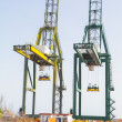 Sea container crane — Stock Photo