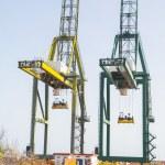 Sea container crane — Stock Photo #27135341