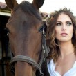 Bride and Bridle — Stock Photo #14632753