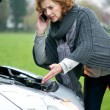 Stock Photo: Roadside Assistance Needed