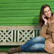 Mobile Phone Conversation - Stock Photo