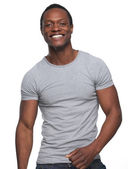 Handsome Young African American Man — Stock Photo