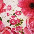 Stock Photo: Painted Floral Pattern