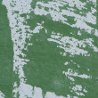 Green Wall with Paint Scraped Texture - Stock Photo