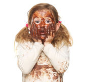 Covered in Chocolate — Stock Photo