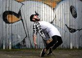 Modern male dancer  — Stock Photo