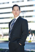 Formal portrait of an asian businessman  — Stock Photo