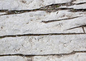 Close up gray rock cracked — Stock Photo