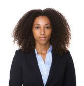 Close up portrait of a black business woman  — Stock Photo