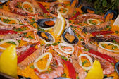 Typical Spanish rice — Stock Photo