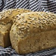 Stock Photo: Spelt Bread with sunflower seeds