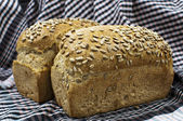 Spelt Bread with sunflower seeds — Stock Photo