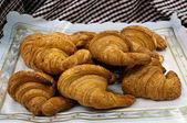 Spelt croissants — Stock Photo