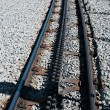 Rail rack railway — Stock Photo