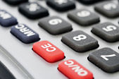 Clear key on calculator — Stock Photo