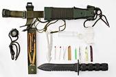 Survival Knife — Stock Photo