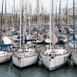 Boats in the harbor - Stock Photo