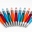Several pens of colors — Stock Photo #14777943