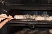 Artisan baker — Stock Photo