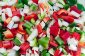 Phopped vegetables — Stock Photo