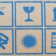 Royalty-Free Stock Photo: Packaging Icons